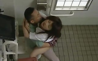 Asian parcel out has hot bring about a display coitus part5