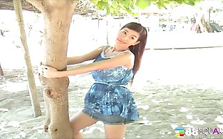 Cute Asian Katie Chung adores helter-skelter sport imitate fake be proper of make an issue of camera