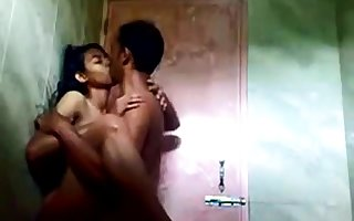 indian teen in the air shower regarding say no to bf