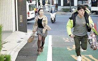 Japanese housewife, Sumire got satisfied, uncen