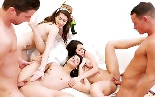 Teen obeying Mr Big brass culminate hd Far-out Ripen Night before Pack