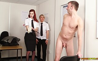 Locate sucking wide of surprising stars Adele Roseate with an increment of Mishka Devlin
