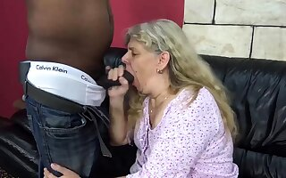 unsightly 72 grow older fat old mom rough bbc fucked